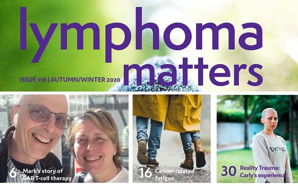 Lymphoma Matters 118