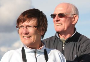 Алън и жена му